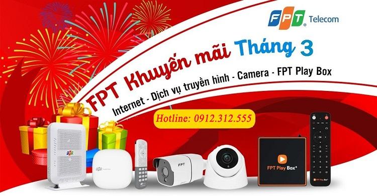 Khuyến mãi lắp đặt mạng FPT tại Phú Thọ tháng 3 - 2021